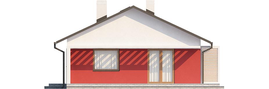 Projekt domu DM-6498 N - elewacja