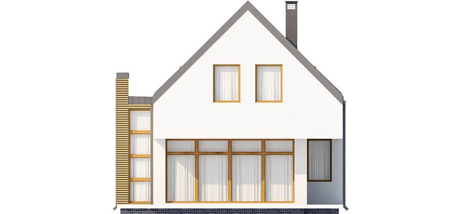 Projekt domu DM-6509 - elewacja