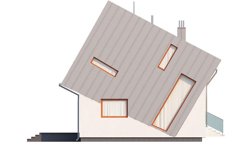 Projekt domu DM-6507 - elewacja