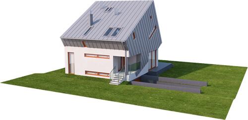 Projekt domu DM-6507 - model