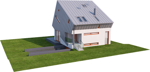 Projekt domu L-6507 - model
