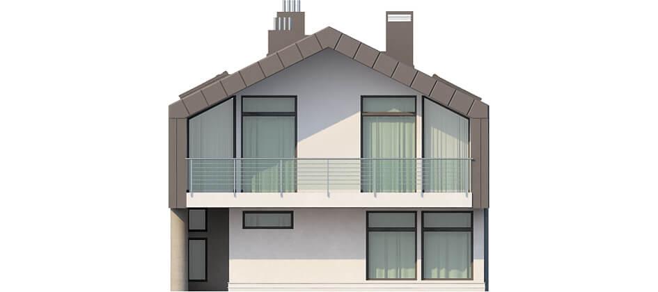 Projekt domu DM-6505 - elewacja