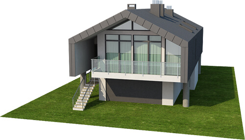 Projekt domu DM-6505 - model
