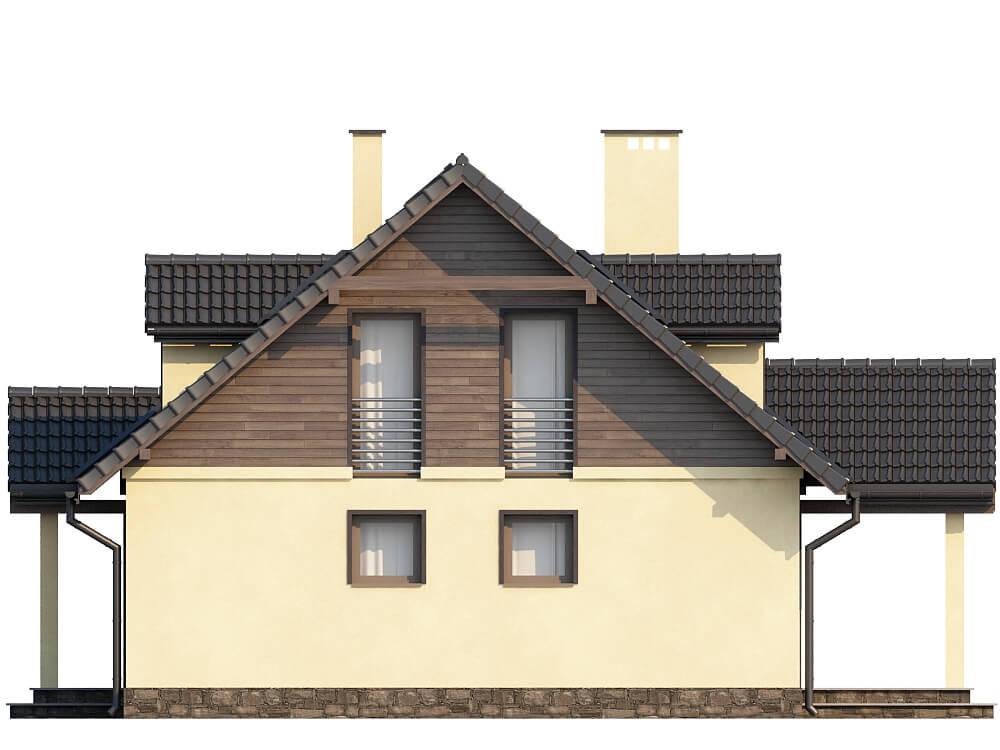 Projekt domu DM-6187 - elewacja