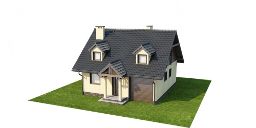 Projekt domu DM-6187 - model