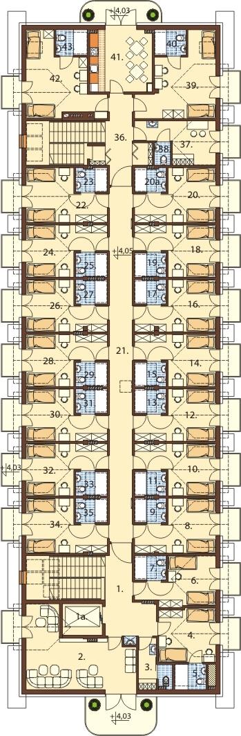 Projekt LK-67 - rzut