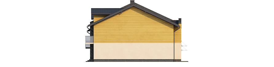 Projekt domu DM-6502 - elewacja