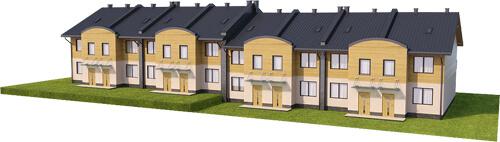 Projekt domu DM-6502 - model