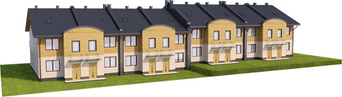 Projekt domu L-6502 - model