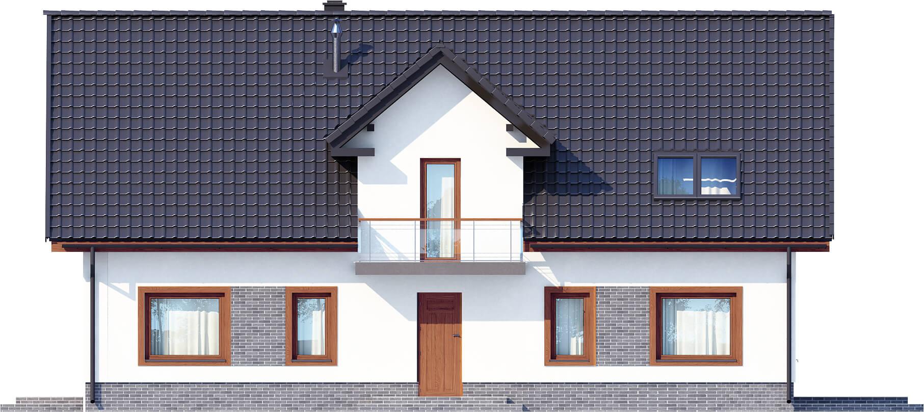 Projekt domu DM-6531 - elewacja