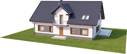 Projekt domu DM-6531 - model