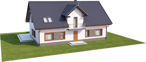 Projekt domu L-6531 - model
