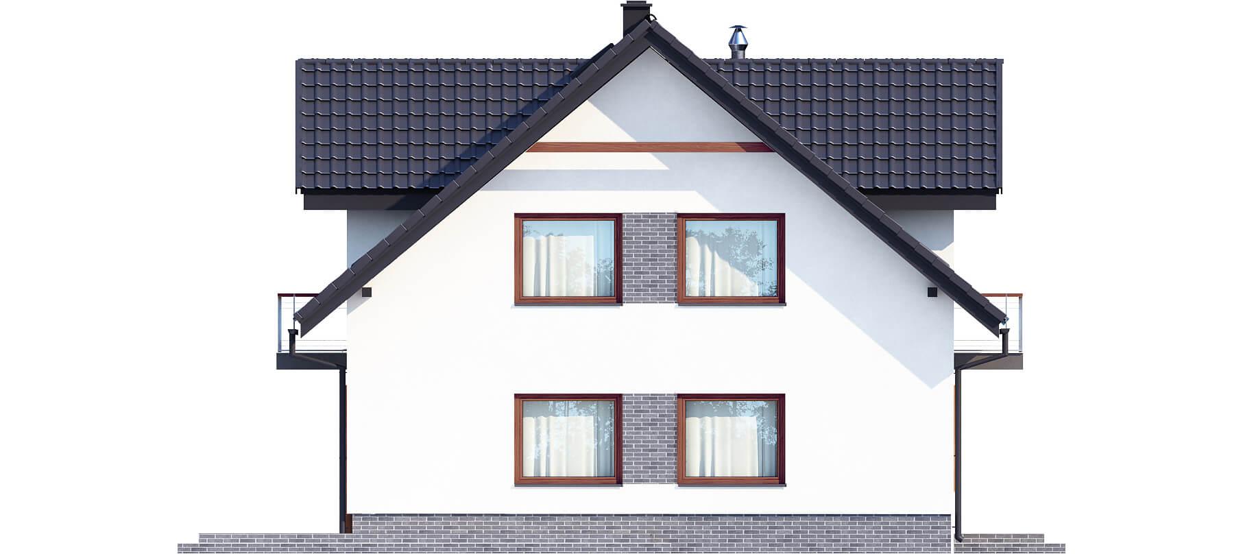 Projekt domu L-6531 - elewacja