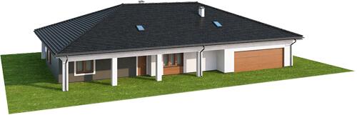Projekt domu DM-6532 - model