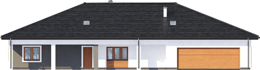 Projekt domu DM-6532 - elewacja