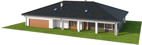 Projekt domu L-6532 - model