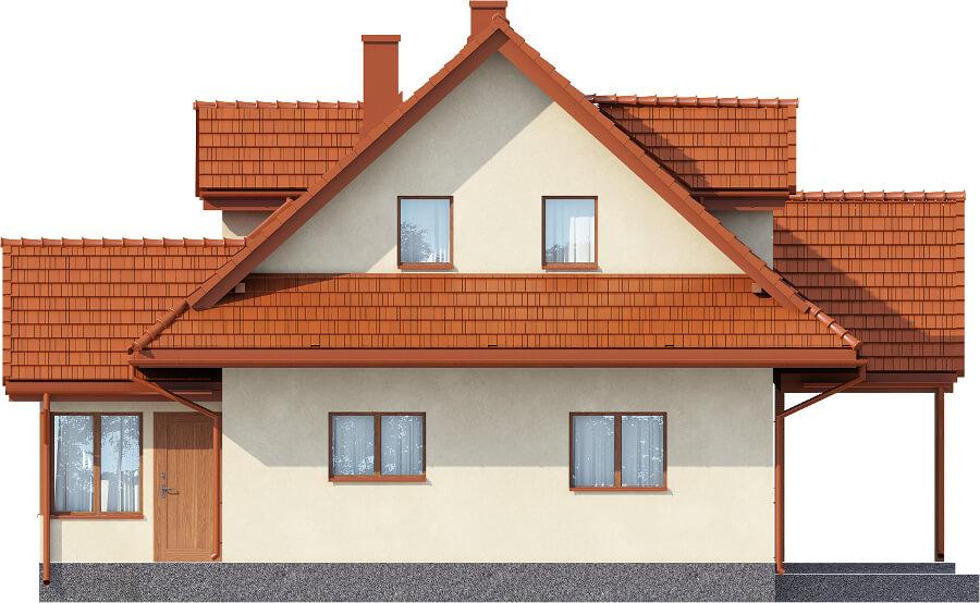 Projekt domu DM-6533 - elewacja