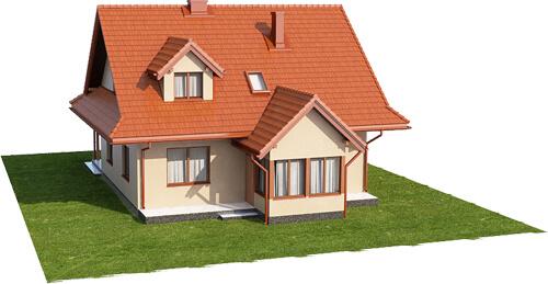 Projekt domu DM-6533 - model