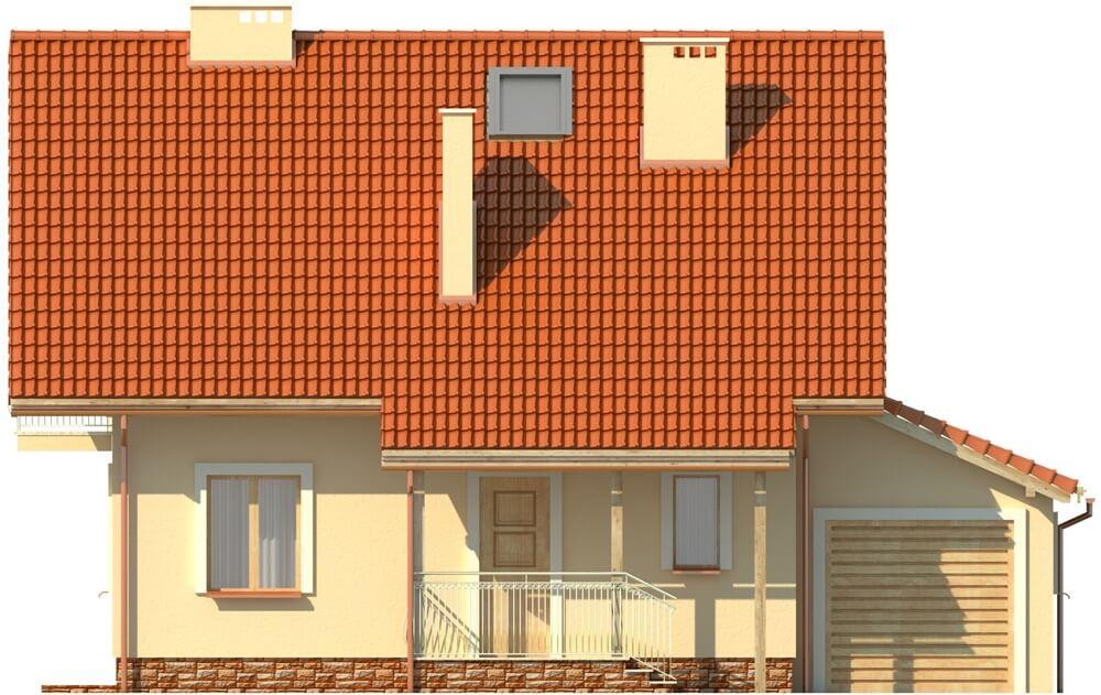 Projekt domu DM-6190 - elewacja