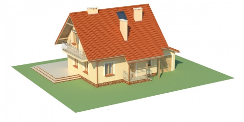 Projekt domu DM-6190 - model