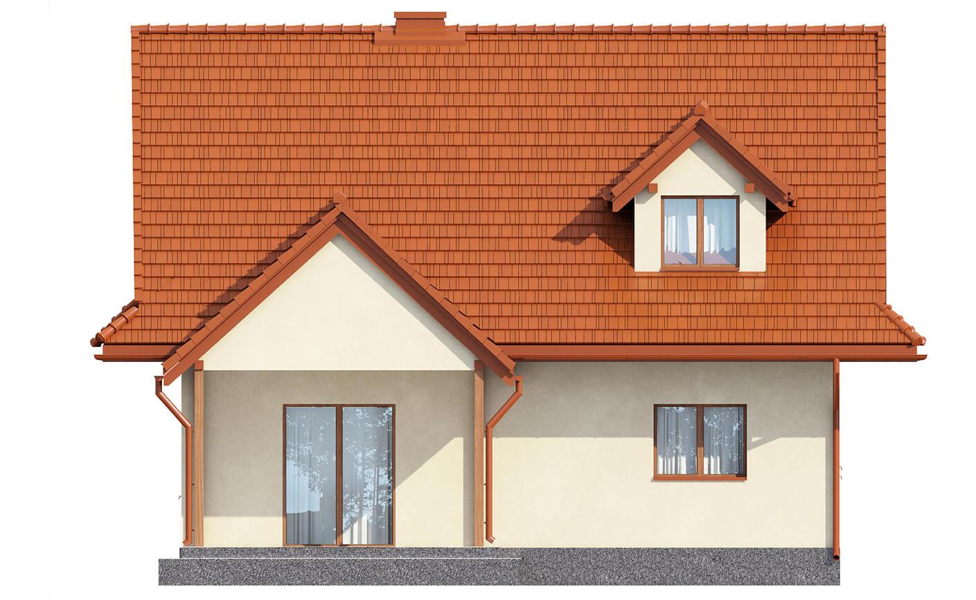 Projekt domu L-6533 - elewacja