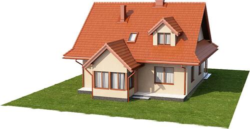 Projekt domu L-6533 - model