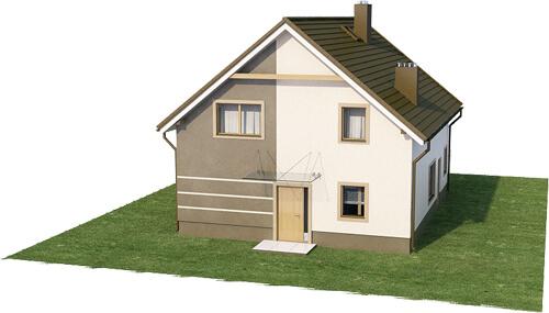 Projekt domu DM-6534 - model