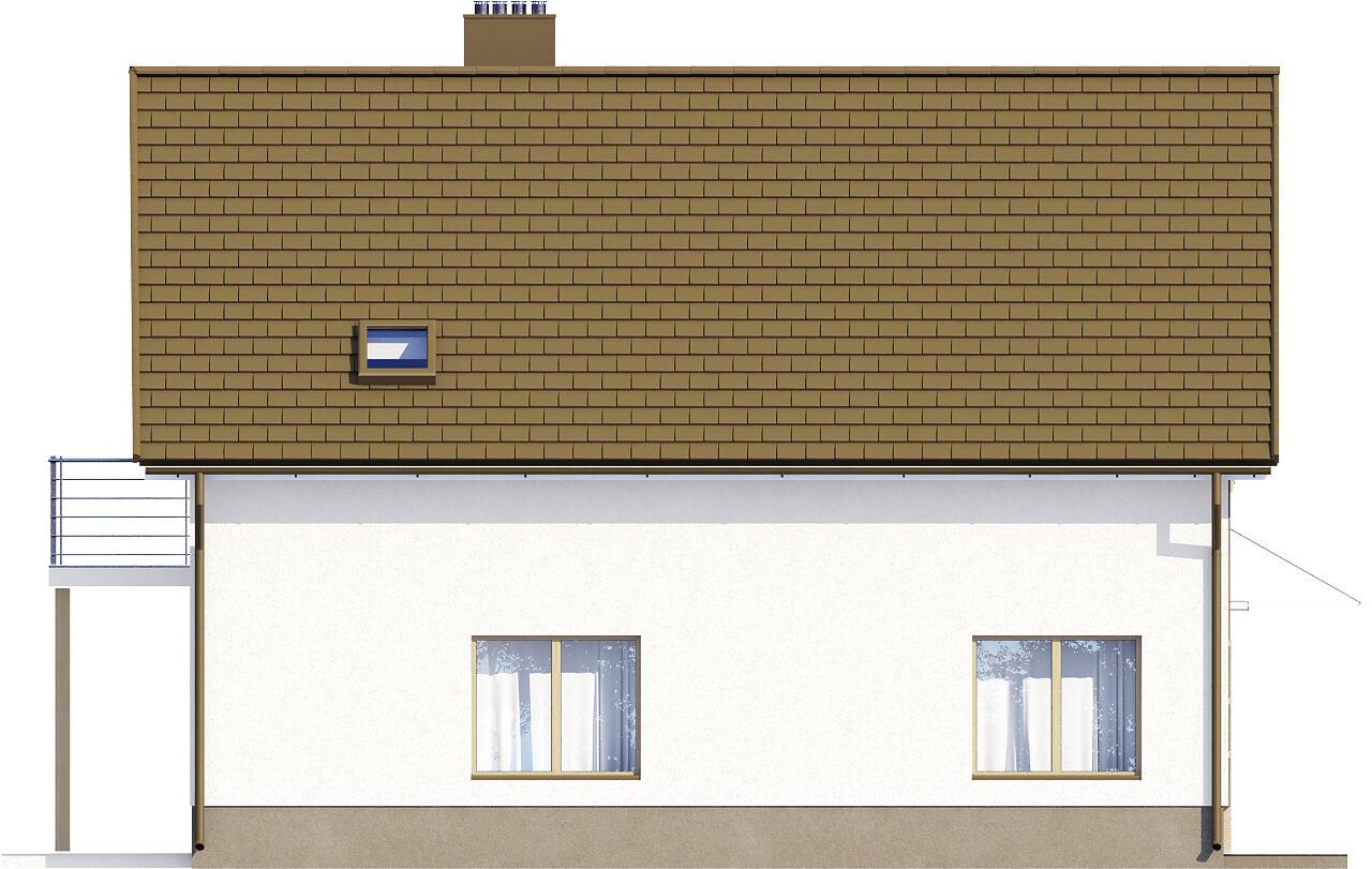 Projekt domu DM-6534 - elewacja