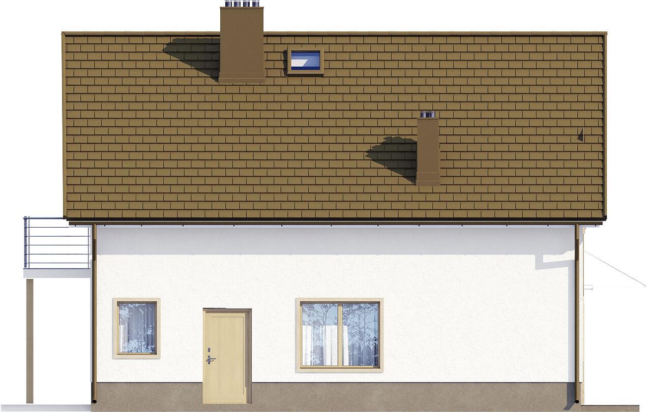 Projekt domu L-6534 - elewacja