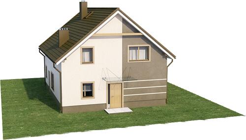 Projekt domu L-6534 - model