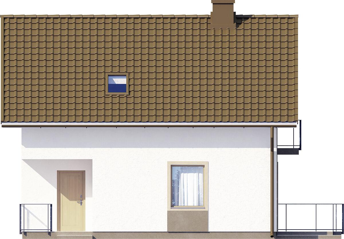 Projekt domu DM-6536 - elewacja