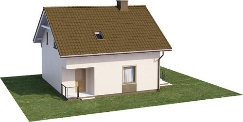 Projekt domu DM-6536 - model