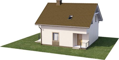Projekt domu L-6536 - model