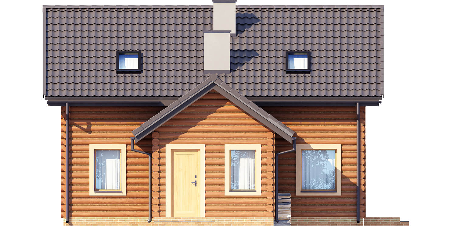 Projekt domu DM-6538 - elewacja
