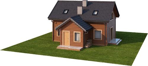 Projekt domu DM-6538 - model