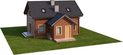 Projekt domu L-6538 - model