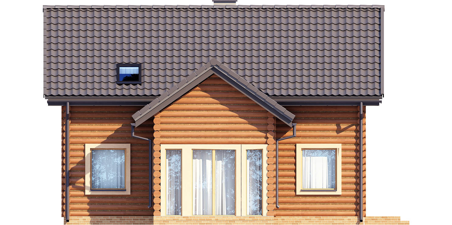 Projekt domu L-6538 - elewacja