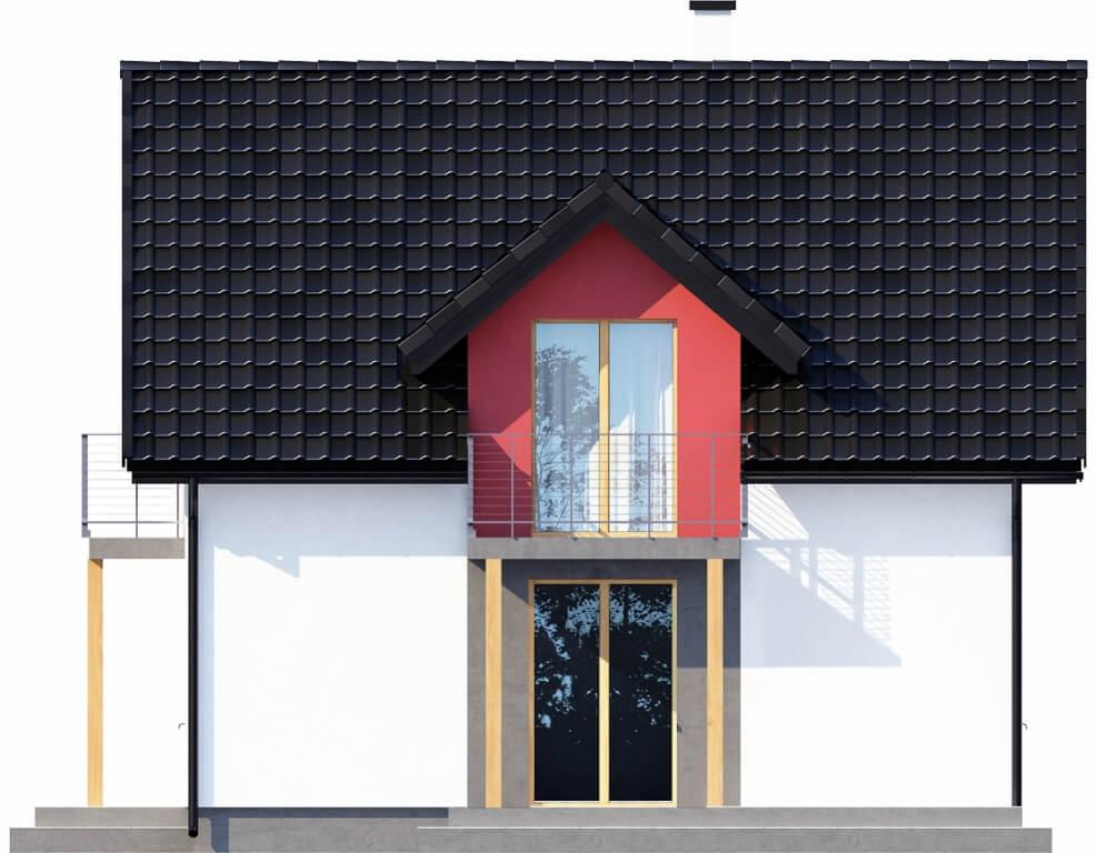 Projekt domu DM-6539 - elewacja