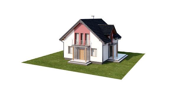 Projekt domu DM-6539 - model