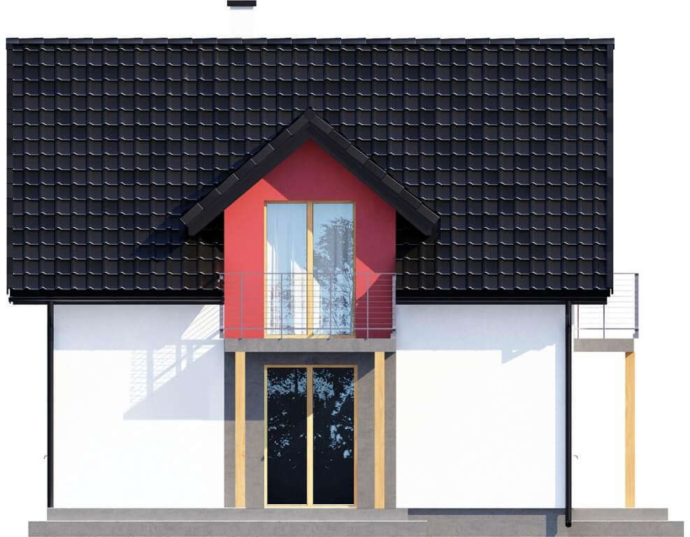 Projekt domu L-6539 - elewacja