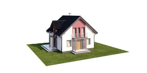 Projekt domu L-6539 - model