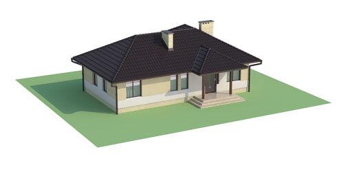 Projekt domu DM-6191 - model