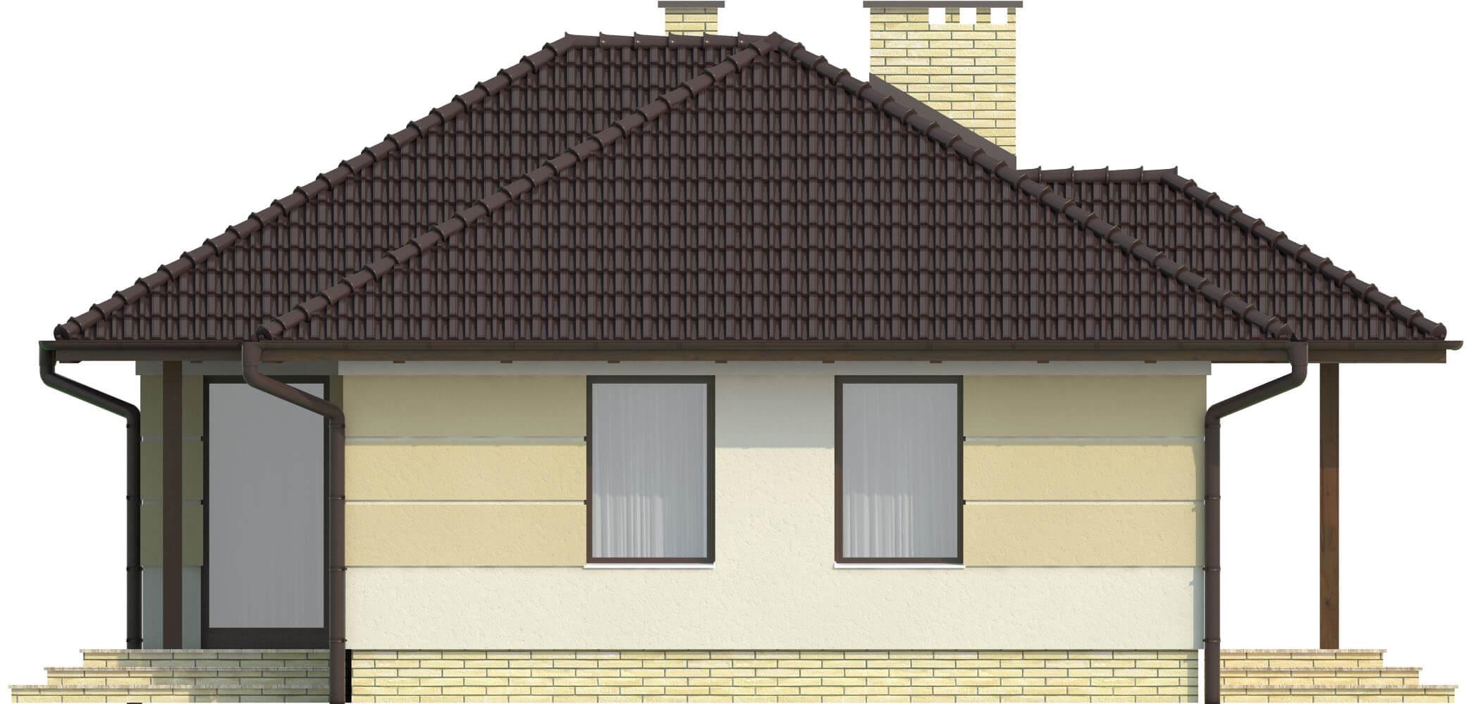 Projekt domu DM-6191 - elewacja