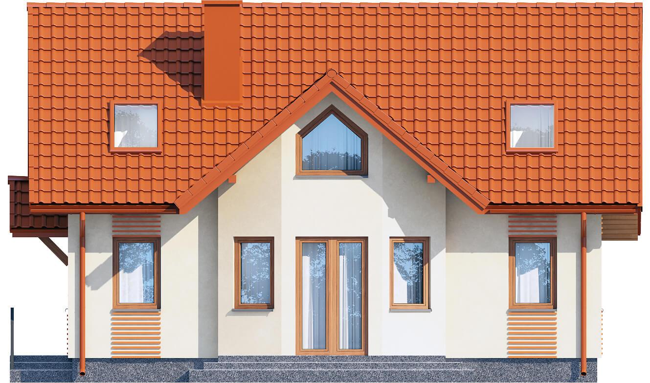 Projekt domu L-6541 - elewacja