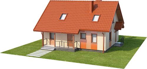 Projekt domu L-6541 - model