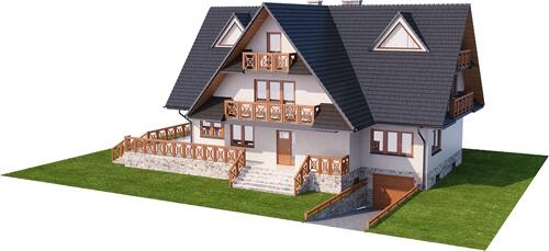 Projekt domu DM-6551 - model