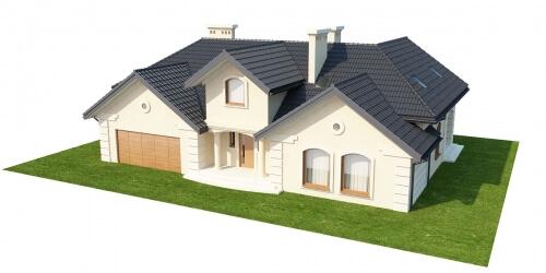 Projekt domu DM-6192 - model
