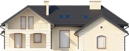 Projekt domu DM-6192 - elewacja