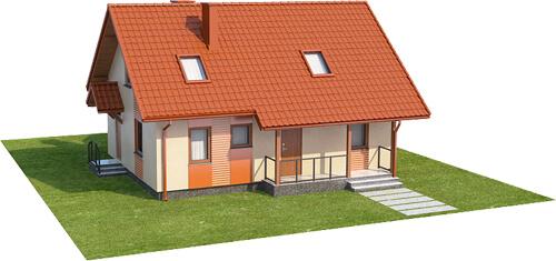 Projekt domu DM-6541 - model