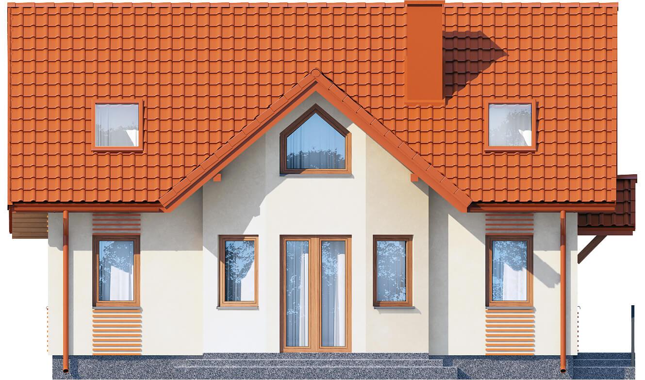 Projekt domu DM-6541 - elewacja